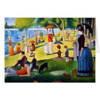 Seurat: A Sunday at La Grande Jatte Greeting Card