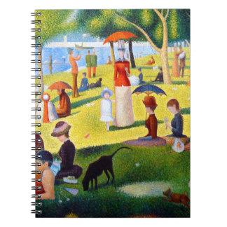 Seurat: A Sunday at La Grande Jatte Spiral Notebook