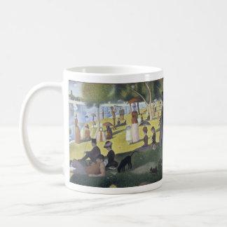 Seurat fine art mug