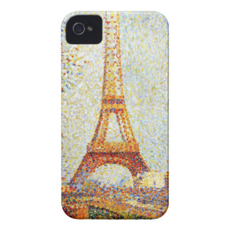 Seurat: The Eiffel Tower iPhone 4 Covers
