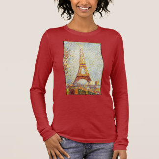 Seurat: The Eiffel Tower Long Sleeve T-Shirt