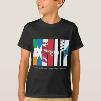 Seven Celtic Nations Dark Shirt
