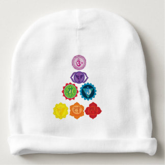 Seven Chakra Yoga Custom Baby Cotton Beanie Baby Beanie