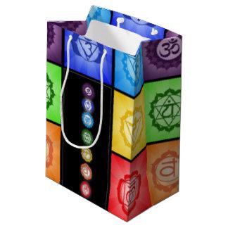 Seven Chakras Meditation Medium Gift Bag