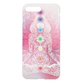 Seven Chakras Pink Lady iPhone 7 Plus Case