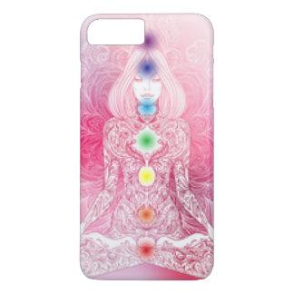Seven Chakras Pink lady iPhone 7 Plus Case