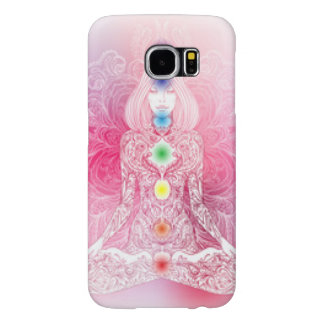 Seven Chakras Pink Lady Samsung Galaxy S6 Cases