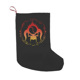 Seven deadly sins Christmas stocking