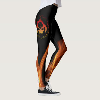 Seven deadly sins fire leggings