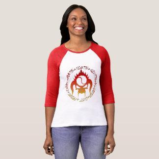 Seven deadly sins Women's Bella+Canvas t-shirt