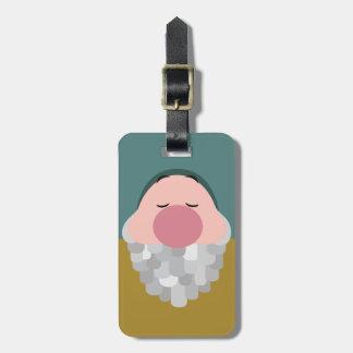 Seven Dwarfs - Sleepy Character Body Luggage Tag