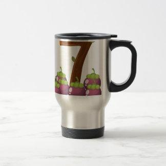 Seven eggplants travel mug
