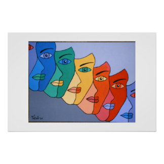 SEVEN FACES OF EVE POSTER