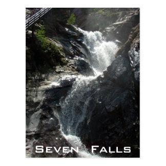 Seven Falls Postcard