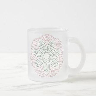 Seven Flower Knot Coffee Mugs