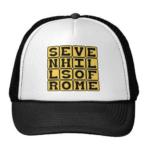 Seven Hills of Rome, Roman Heights Hats