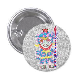 Seven luck God/Bishamon heaven can badge