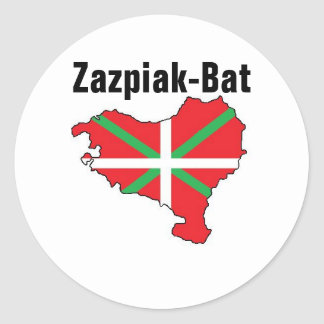 Seven Provinces One Basque Country Sticker
