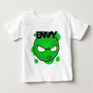 Seven Sins Faces - Envy Baby T-Shirt