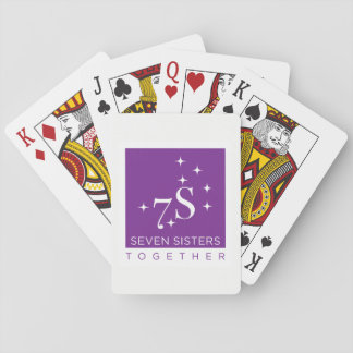 Seven Sister Together Playing Cards