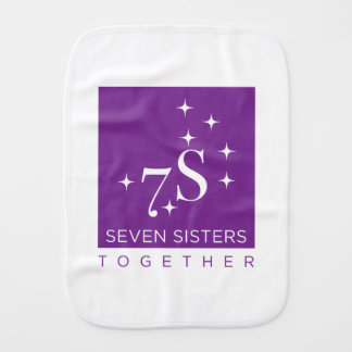 Seven Sisters Baby ! Burp Cloth