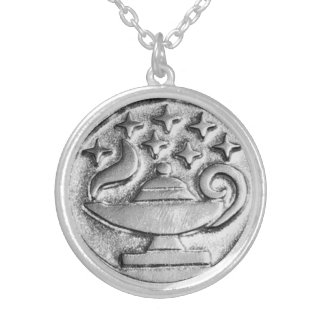 Seven Sisters Genie Wish Magick Talisman Silver Plated Necklace