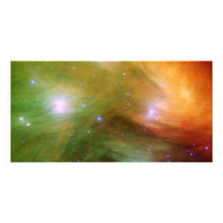 Seven Sisters Pleiades Stars Space Picture Card