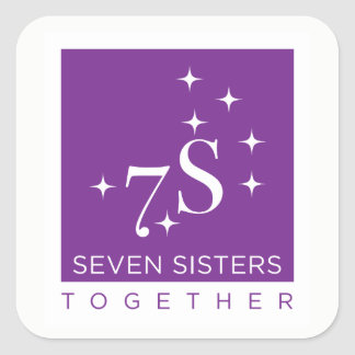 Seven Sisters Together Sticker Sheet - 6 stickers