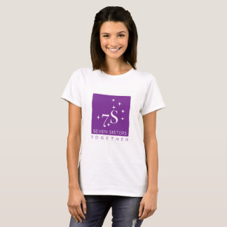 Seven Sisters Together Women's Logo Front T-Shirt
