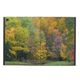 Seven Springs Fall Bridge II Autumn Landscape Powis iPad Air 2 Case