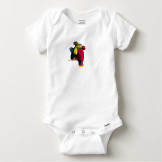 Seven Tropical Bird's Baby Onesie