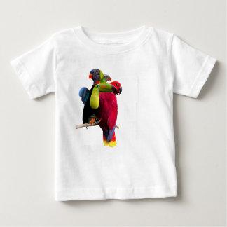 Seven Tropical Bird's Baby T-Shirt