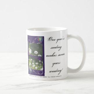 seven years weeding mug