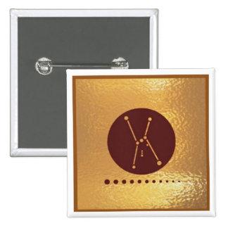 SevenStar Star Orbit 7star - Medal Icon Gold Base Pins
