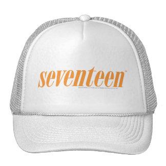 Seventeen Logo-Orange Cap