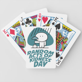 Seventeenth February - Random Acts Of Kindness Day Bicycle Playing Cards