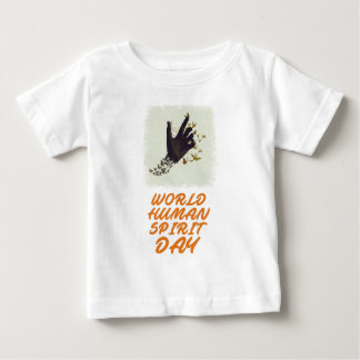 Seventeenth February - World Human Spirit Day Baby T-Shirt
