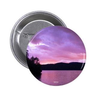 Seventh Lake Sunset II Pin
