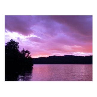 Seventh Lake Sunset II Postcards