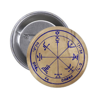 Seventh Pentacle of Jupiter 6 Cm Round Badge