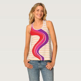 Seventies Stripes Singlet