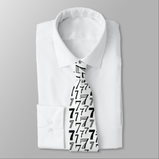 Seventieth Birthday or Seventh Anniversary Necktie