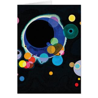 Several Circles by Wassily Kandinsky Card
