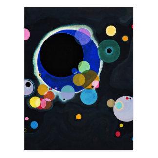 Several Circles Postcard