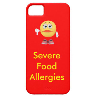 Severe Food Allergies Phone case iPhone 5/5S Cases