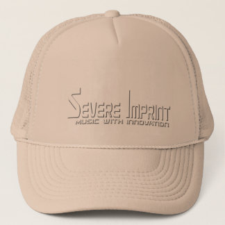 Severe Imprint Tucker Hat, Gold Trucker Hat