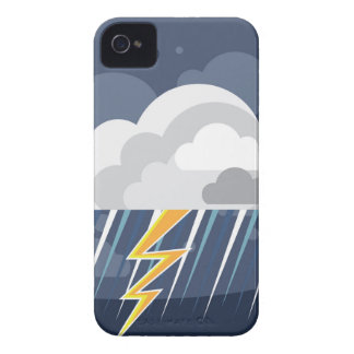 Severe Weather Storm Icon iPhone 4 Case-Mate Case