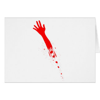 Severed Arm Card