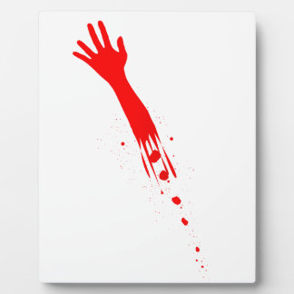 Severed Arm Photo Plaques