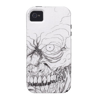 Severed Zombie Horror Head Art iPhone 4/4S Cover